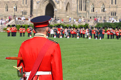 Changing of Guard in Parliament Hill, Ottawa Stock Images