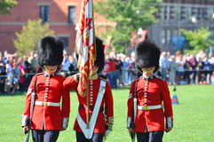 Changing of Guard in Parliament Hill, Ottawa. Canada Royalty Free Stock Images