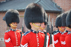 Changing of Guard in Parliament Hill, Ottawa. Canada Royalty Free Stock Photo