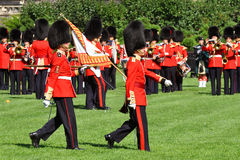 Changing of Guard in Parliament Hill, Ottawa. Canada Royalty Free Stock Image