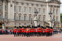 Changing of the Guard Performance at Buckingham Palace Stock Image