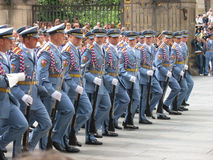 Changing of the guard, Prague, Czech Republic Stock Photography