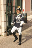 Changing the guard. Presidential Palace. Lisbon. Portugal Stock Photography
