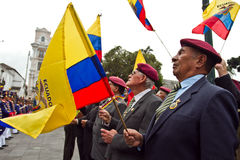 Changing of the Guard in Quito, Ecuador Royalty Free Stock Images