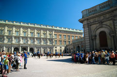 Changing of the guard, Sweden Royalty Free Stock Photo