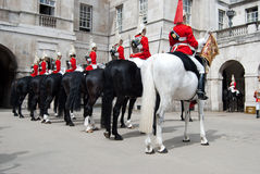 Changing guard Stock Image