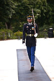 Changing the guards in the afternoon at the tomb of the unknown soldier Stock Photography