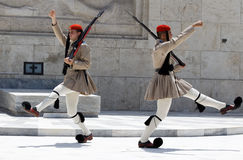 Changing of the Guards Athens Stock Image