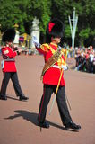 Changing the guards at Buckingham Palace Royalty Free Stock Photography