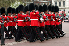 Changing of the Guards ceremony. Changing of the Guards ceremony at Buckingham Palace, London Stock Photography