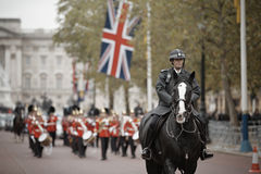 Changing of the Guards ceremony Royalty Free Stock Photo