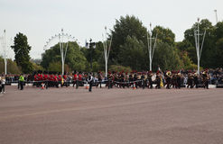 Changing of the Guards ceremony Stock Images