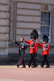 Changing the Guards ceremony at Buckingham Palace London UK Stock Photography
