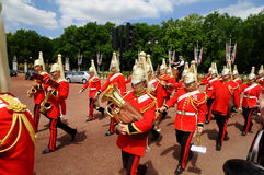 Changing guards ceremony, London Stock Photo