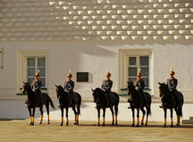 Changing of the Guards Ceremony, Moscow Kremlin Complex, Russia Stock Image