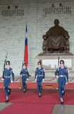 The changing of the guards at CKS Memorial Hall Royalty Free Stock Photo