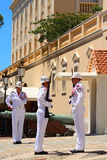Changing guards at the palace, Monaco-ville, Monaco Stock Photos