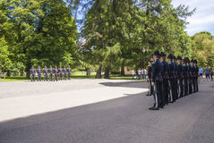 Changing guards Stock Photography
