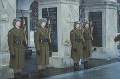 Changing guards Stock Photos