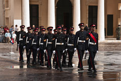 Changing of the guards Stock Photo