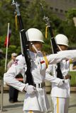 Changing the honor guard Stock Photos