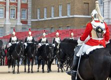 Changing of the Horse Guard in London, England Stock Photography