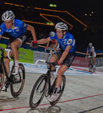 Changing lead at Sixday-Nights Stock Photography