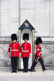 Changing Of Foot Guards At Governor General House Royalty Free Stock Photos