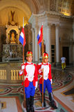 Changing Of The Guards At National Pantheon Of The Heroes In Asuncion, Paraguay Stock Images