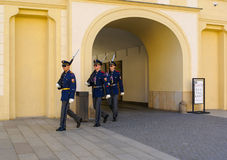 Changing of the presidential guards Stock Photo