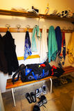 Changing room Royalty Free Stock Photo