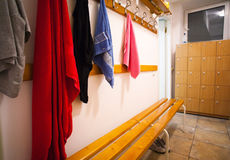 Changing room Stock Image