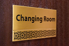 Changing room Royalty Free Stock Image