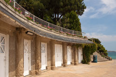 Changing Rooms at Dinard Stock Image
