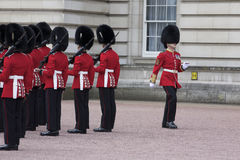 Changing of Royal Guard Buckingham Palace Royalty Free Stock Photo