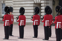 Changing of Royal Guard Buckingham Palace Royalty Free Stock Images