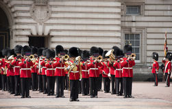 Changing of the royal guard, london Royalty Free Stock Photo