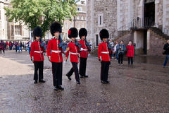 Changing of royal guards Royalty Free Stock Photos