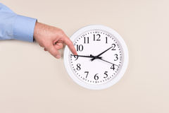 Changing time Stock Photos