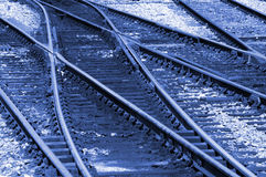 Changing Tracks Royalty Free Stock Photos