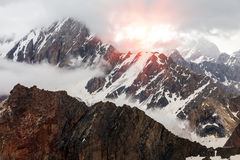 Free Changing Weather In Mountains Royalty Free Stock Images - 68582749