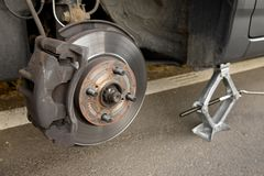 Changing wheel Stock Images