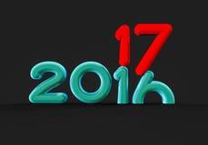 Changing year Royalty Free Stock Image