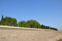 Changjiang河堤坝 图库摄影