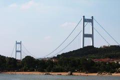 Changjiang-Fluss-Brücke Stockbild