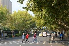 Changjiang-Straße, Nanjing, China Stockfoto