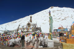 Changla Pass. Royalty Free Stock Photo