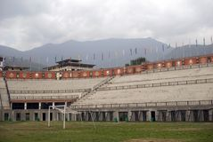 Changlimithang Stadium, Thimphu, Bhutan Stock Photo