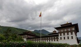 Changnagkha Lhakhang, Paro省不丹2015年9月 免版税库存照片