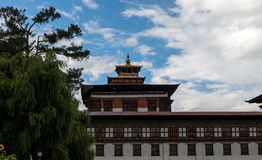 Changnagkha Lhakhang , Paro province Bhutan Sep 2015. Royalty Free Stock Photo